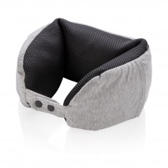 Deluxe microbead travel pillow