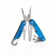 Solid multitool with carabiner
