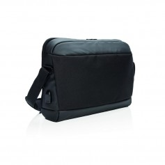 "Madrid RFID USB 15.6"" laptop bag PVC free"