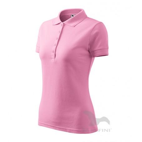 Reklaminiai moteriški POLO marškinėliai PIQUE su logotipu
