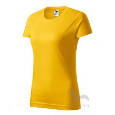 Reklaminiai moteriški marškinėliai BASIC su logotipu