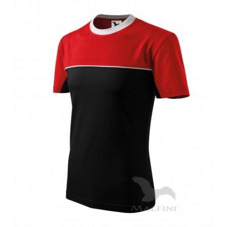 Reklaminiai dvispalviai marškinėliai COLORMIX