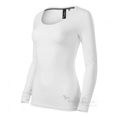 Reklaminiai moteriški marškinėliai ilgomis rankovėmis BRAVE WM