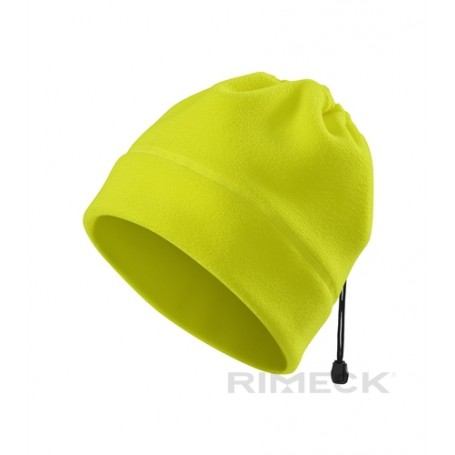 Reklaminė flisinė fluorescencinė kepurėlė PRACTIC