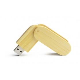 """Reklaminis bambukinis USB atmintukas su logotipu """"STALK"""""""