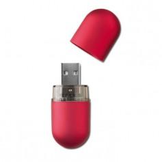 """Reklaminis USB raktas su kamšteliu ir logotipu """"SATI"""""""
