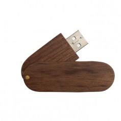 "Medinis reklaminis USB raktas su logotipu ""WUDI"""