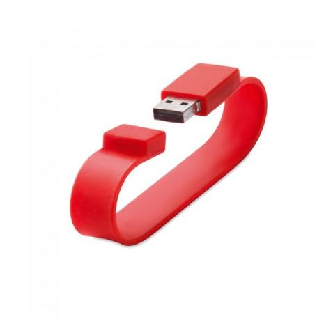 """Silikoninis USB raktas - apyrankė su užrašu """"SILI"""""""