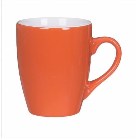 """Reklaminis keramikinis puodelis su užrašu """"OLIN"""""""