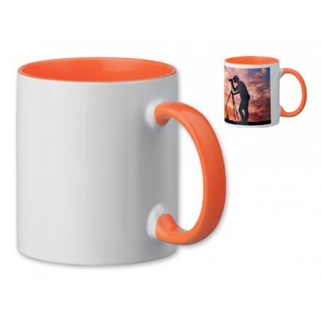 """Sublimacinis reklaminis puodelis su Jūsų logotipu """"SUBLIM"""""""