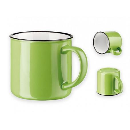 """360ml. talpos keramikinis puodelis su spauda """"VERNON"""""""