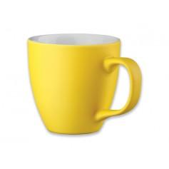 """Reklaminis porcelianinis puodelis, matinės spalvos """"PANTHONY MAT"""""""
