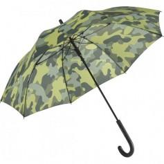 """Kamufliažinis reklaminis skėtis, su jūsų logotipu """"GREEN"""""""