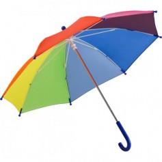 """Spalvotas reklaminis skėtis su jūsų logotipu """"RAINBOW"""""""