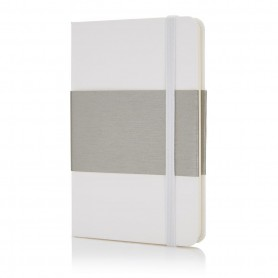 Deluxe hardcover A6 notebook