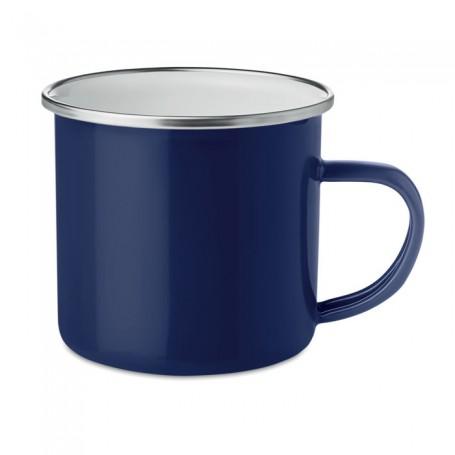 """Reklaminis, metalinis puodelis su Jūsų logotipu """"MUGGE"""""""