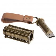"""USB atmintė su užraktu ir Jūsų logotipu """"LOCK"""""""