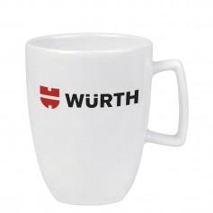 """Porcelianinis reklaminis puodelis su Jūsų logotipu """"MERLIN"""""""