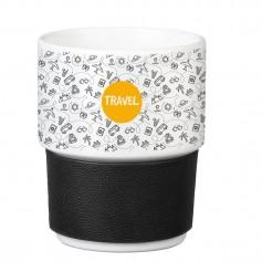 """Išskirtinio dizaino puodelis su Jūsų logotipu """"PURE"""""""