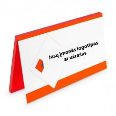 Magnetiniai lapeliai su Jūsų logotipu