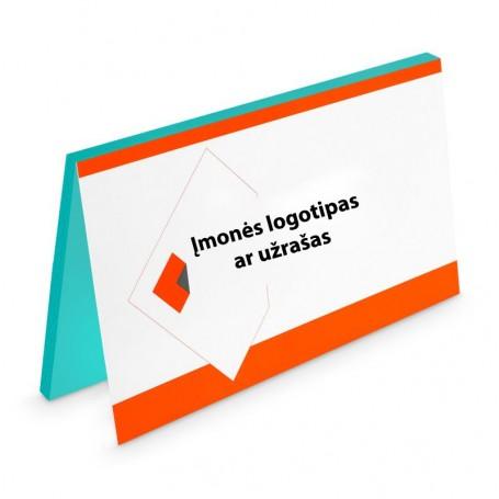Lipnūs lapeliai su Jūsų logotipu