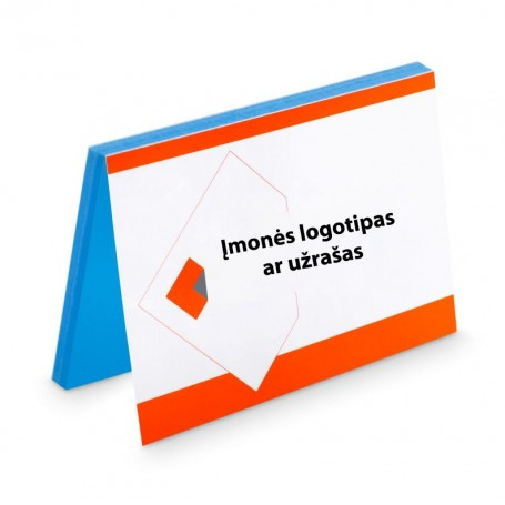 Elektrostatiniai lapeliai su Jūsų logotipu