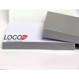 Lapeliai užrašams su logotipu