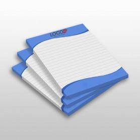 Užrašų lapeliai su Jūsų logotipu ar užrašu