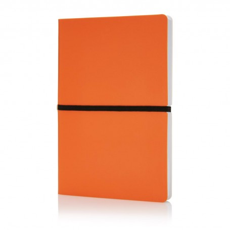 Deluxe softcover A5 notebook