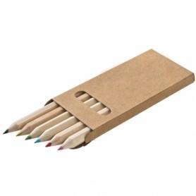 """Pieštukų rinkinys dėžutėje su logotipu ar užrašu """"PAINT"""""""