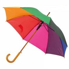 """Spalvotas skėtis su Jūsų norimu logotipu """"RAINBOW"""""""