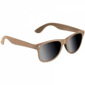 """Mediniai saulės akiniai su Jūsu norimu užrašu ar logotipu """"SUN"""""""