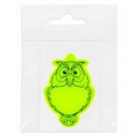 Atšvaitinis lipdukas su Jūsu norimu logotipu OWL