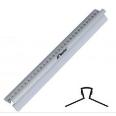 Aliuminė liniuotė su Jūsų logotipu LIN
