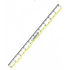 Plastmasinė liniuotė su Jūsų įmonės logotipu ar užrašu LIKK
