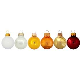 Kalėdiniai blizgūs žaisliukai su logotipu GLOSS