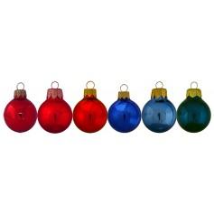 Blizgūs žaisliukai Kalėdoms su spauda SOSA