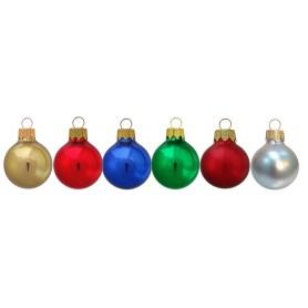 METTALIC kalėdiniai žaisliukai su spauda MET