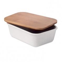 Dėžutė pietums su bambukiniu dangčiu FANCY