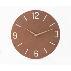 Natūralus sieninis laikrodis su logotipu NATURAL