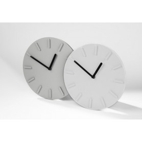 Paprastas sieninis laikrodis su Jūsų reklama LUCY