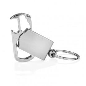 Metalinis raktų pakabukas 3 viename ROTEX