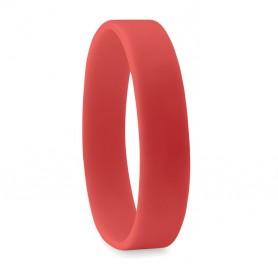 Raudona silikoninė apyrankė