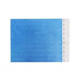 Mėlynos popierinės apyrankės