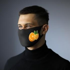 Sublimacinė veido kaukė su Jūsų reklama