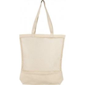 Tinklelinis medvilninis maišelis su spauda 170g/m2