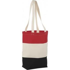Medvilninis trijų spalvų maišelis 227g/m2