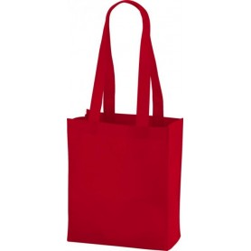 Reklaminiai neaustiniai maišeliai ilgomis rankenomis 80g/m2
