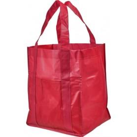 Reklaminiai neaustiniai maišeliai su kišene 80g/m2