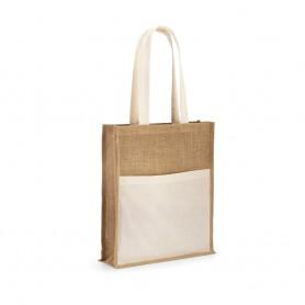 Reklaminiai džiuto maišeliai ilgomis rankenomis 240g/m2